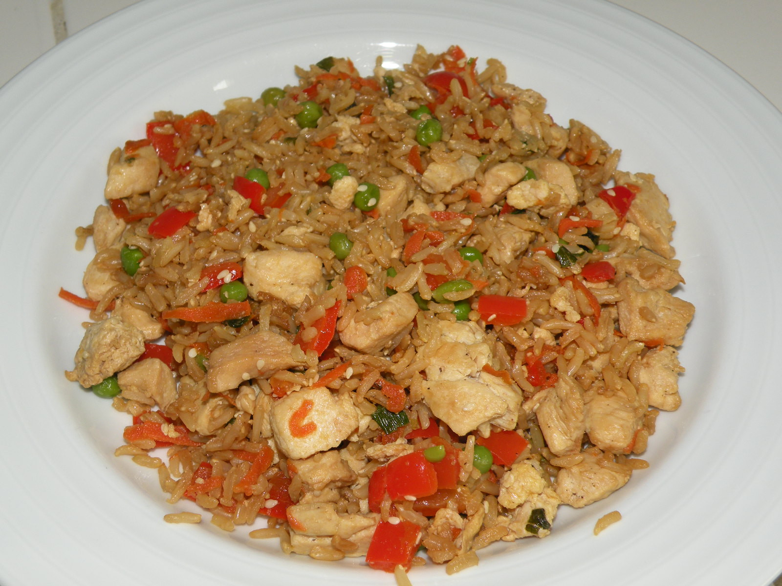 Healthy Chicken Fried Rice  Healthy and Easy Recipes Chicken Fried Rice