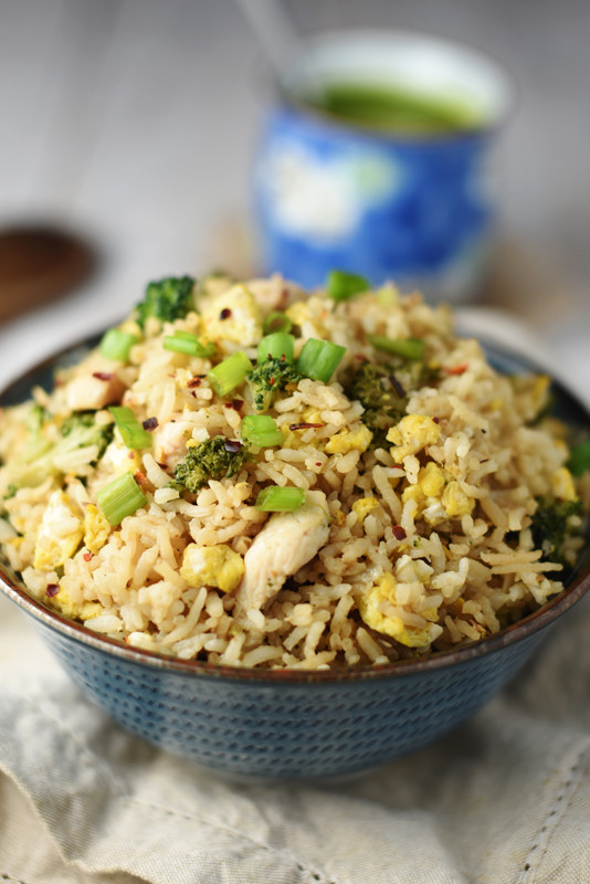 Healthy Chicken Fried Rice  Healthy Chicken Fried Rice