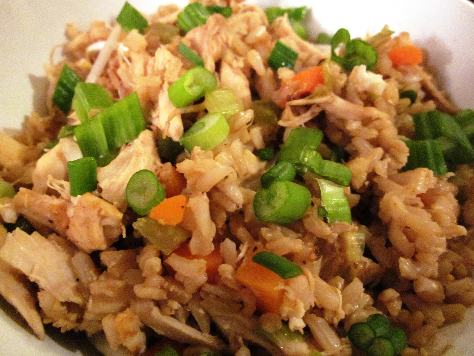 Healthy Chicken Fried Rice  Heather s Healthy Journey Healthy Chicken Fried Rice