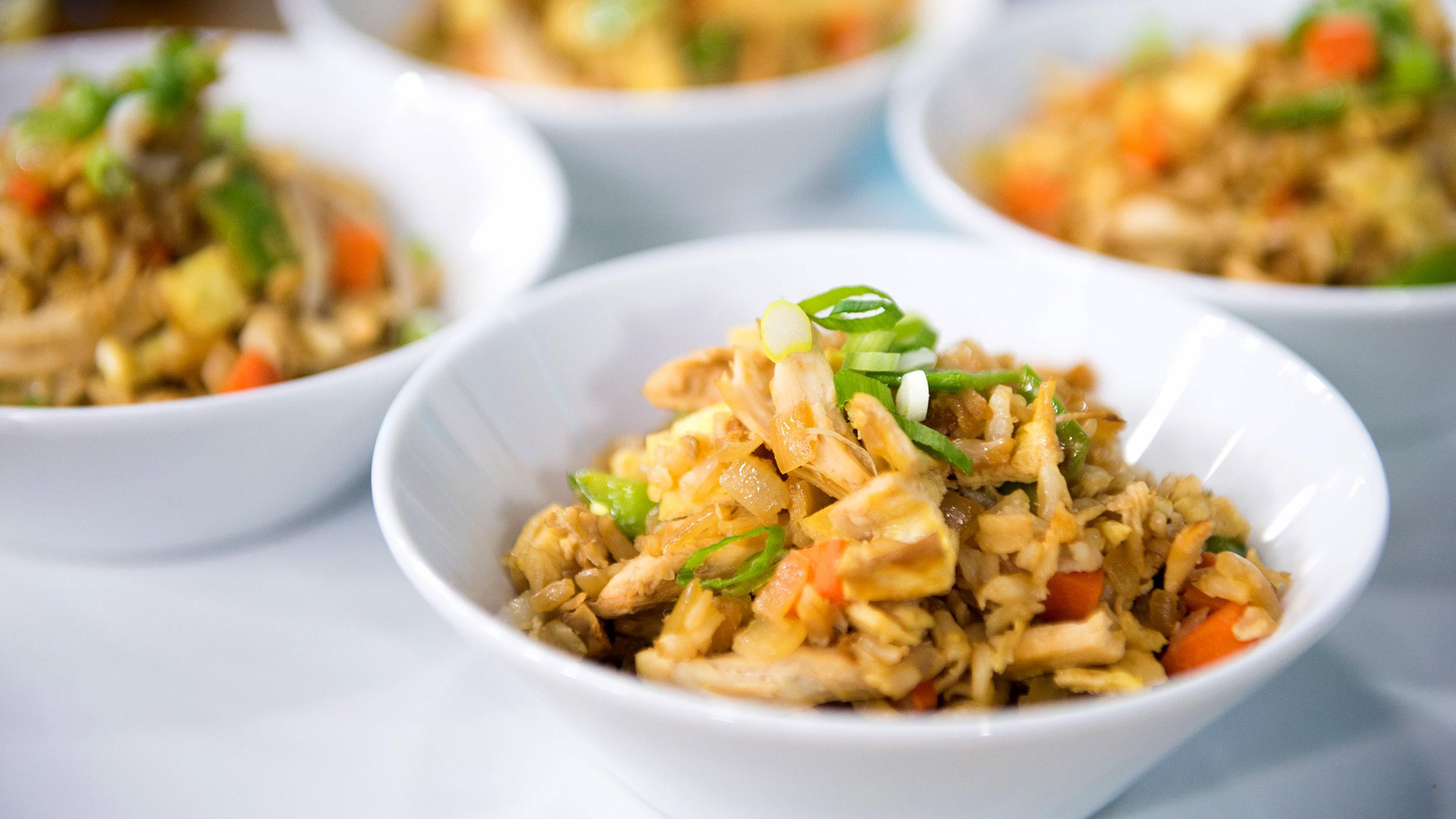 Healthy Chicken Fried Rice  Joy Bauer s healthy chicken fried rice and pancake recipes