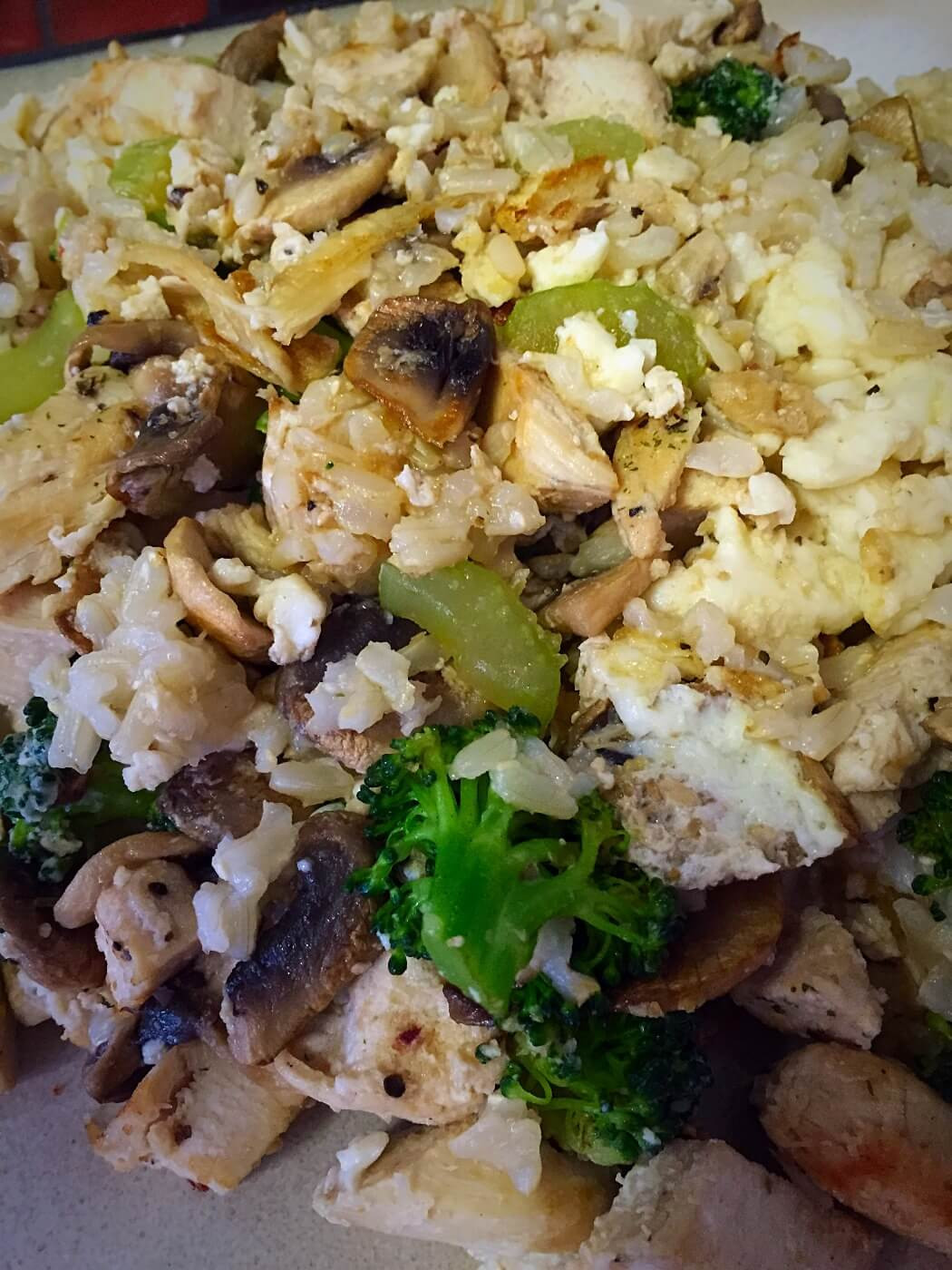 Healthy Chicken Fried Rice  Healthy Chicken Fried Rice Elevate Yourself