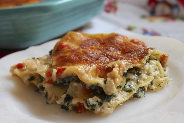 Healthy Chicken Lasagna  Homemade Chicken Lasagna fort Food 101 Minus the