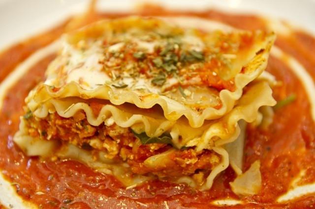 Healthy Chicken Lasagna  Healthy Chicken Lasagna 3