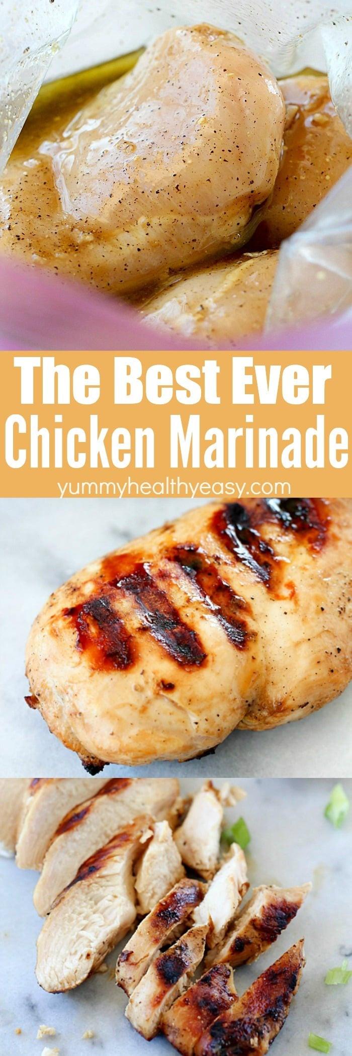 Healthy Chicken Marinades  The Best Chicken Marinade Recipe Yummy Healthy Easy
