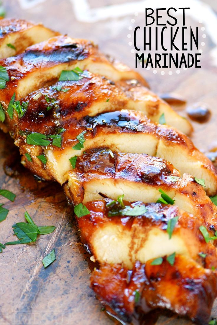 Healthy Chicken Marinades  100 Marinated chicken recipes on Pinterest