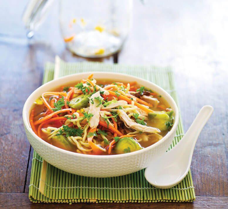 Healthy Chicken Noodle Soup  Healthy chicken noodle soup Healthy Food Guide