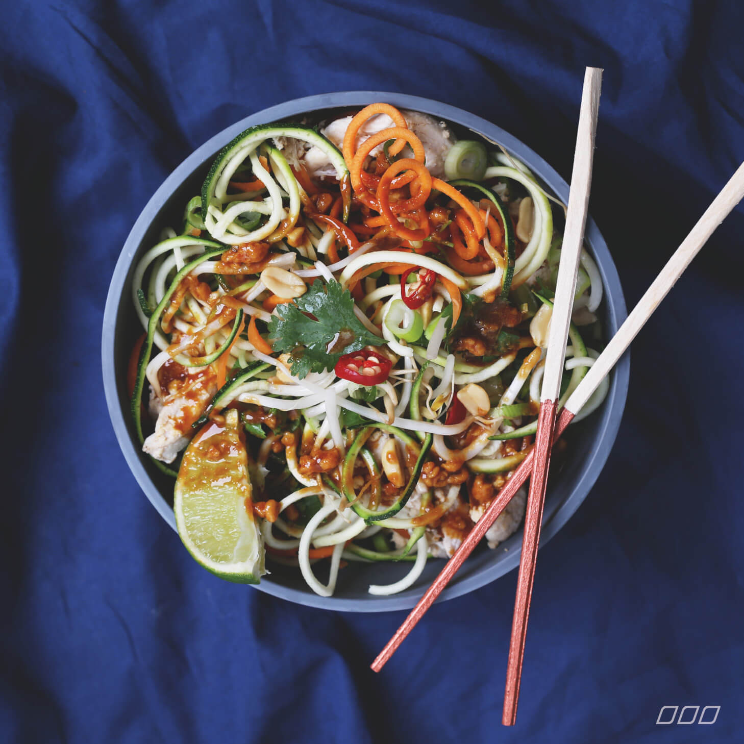 Healthy Chicken Pad Thai  The Secret to Making Healthy Chicken Pad Thai Move
