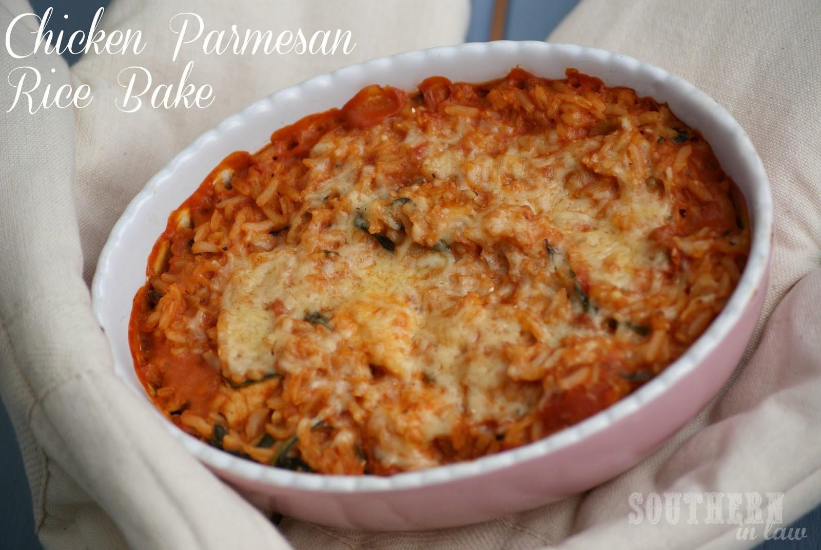 Healthy Chicken Parmesan Casserole  Southern In Law Recipe Chicken Parmesan Rice Bake