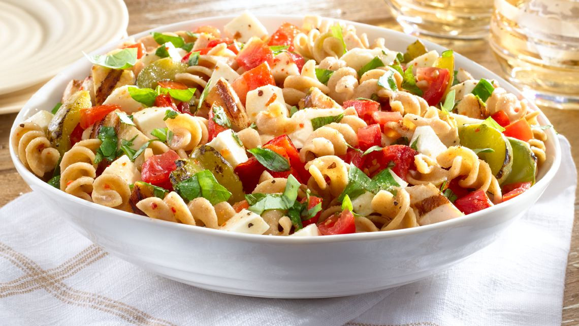 Healthy Chicken Pasta Salad  HOW TO BUILD A HEALTHY LUNCHBOX Gasol Foundation