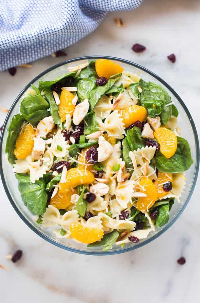 Healthy Chicken Pasta Salad  Healthy Chicken Pasta Salad Tastes Better From Scratch