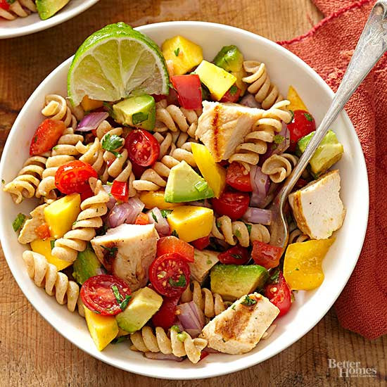 Healthy Chicken Pasta Salad  Healthy Pasta Salad Recipes