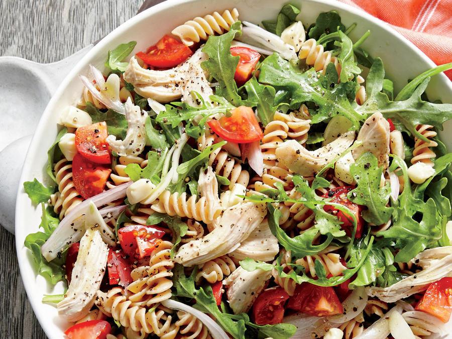 Healthy Chicken Pasta Salad  Healthy Chicken Pasta Salad