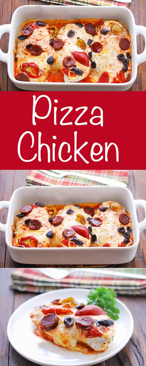 Healthy Chicken Pizza Recipes  Pizza Chicken Recipe Keto and Low Carb