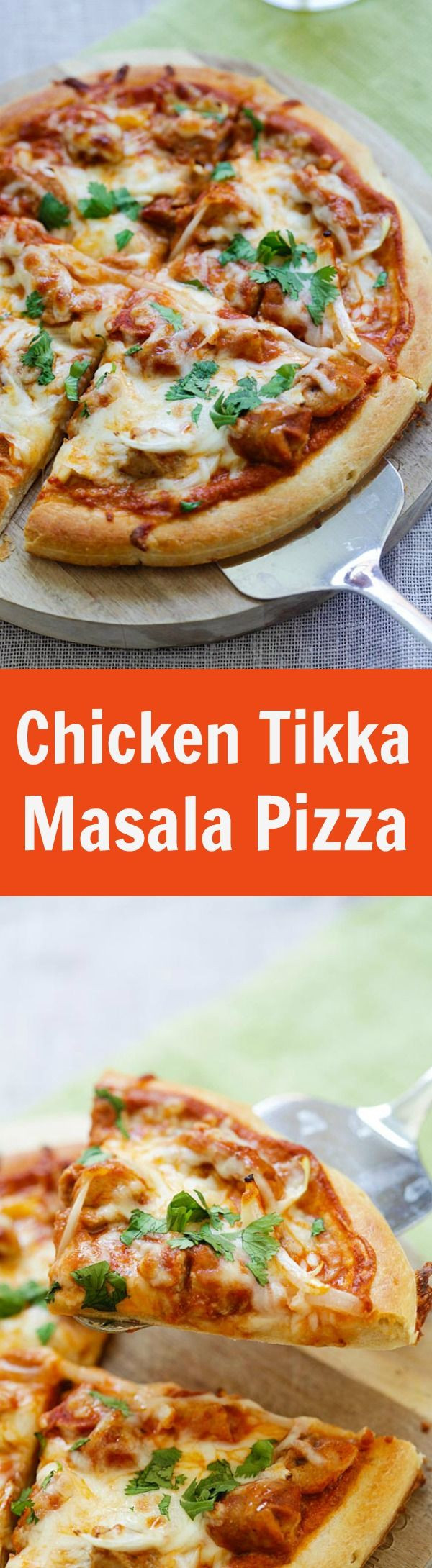 Healthy Chicken Pizza Recipes  Healthy Recipes Chicken Tikka Masala Pizza – cheesy