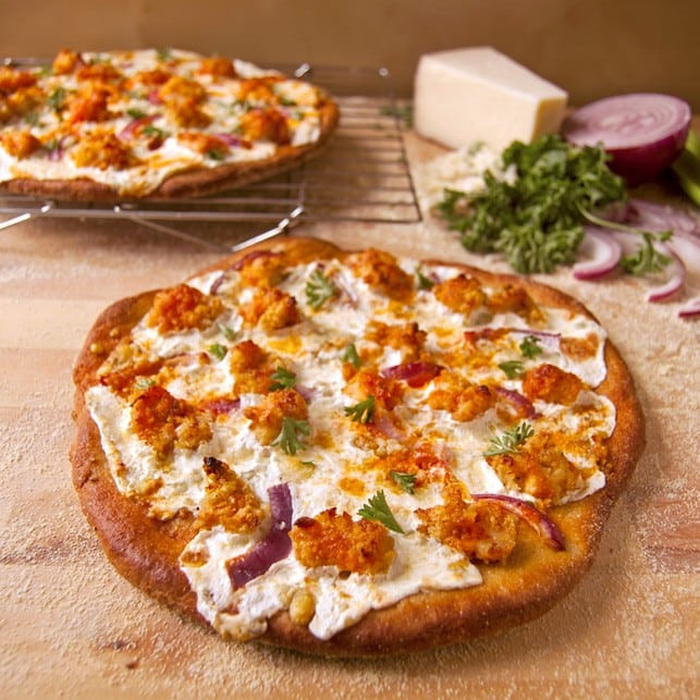 Healthy Chicken Pizza the top 20 Ideas About Healthy Buffalo Chicken Pizza 2teaspoons