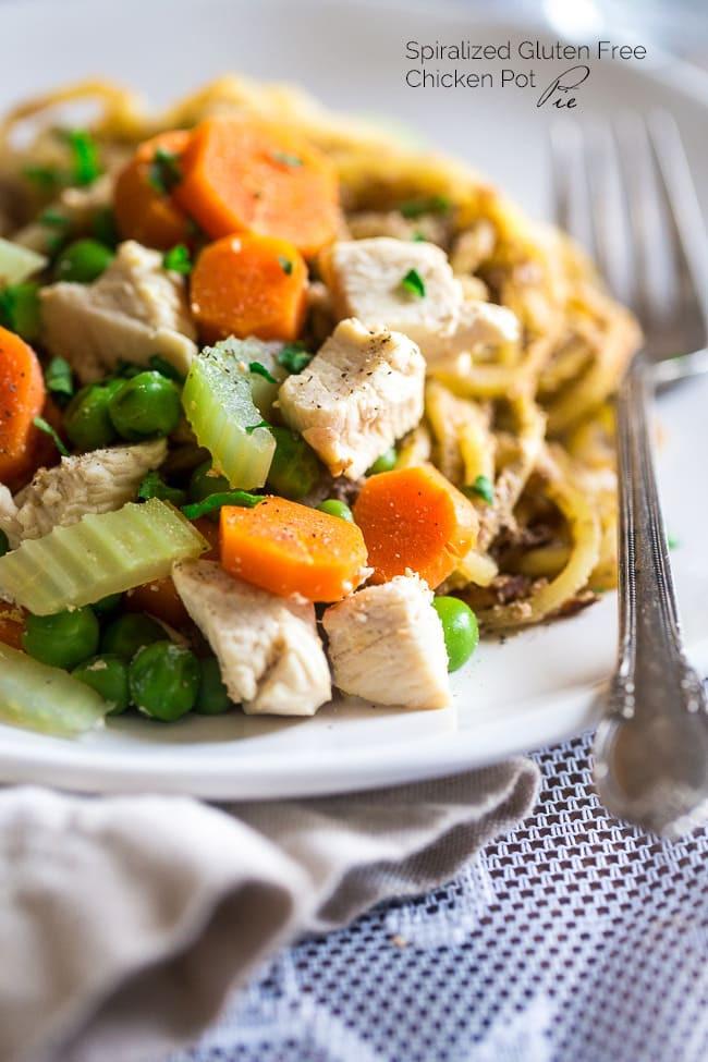 Healthy Chicken Pot Pie  Healthy Chicken Pot Pie Potato Noodles