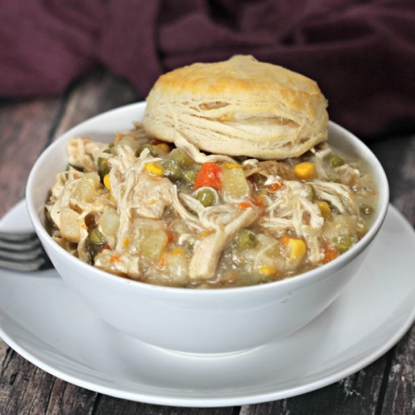 Healthy Chicken Pot Pie Crock Pot  Crockpot Archives Eating on a Dime