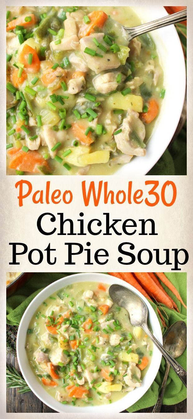 Healthy Chicken Pot Pie Soup  Best 25 Healthy recipes ideas on Pinterest