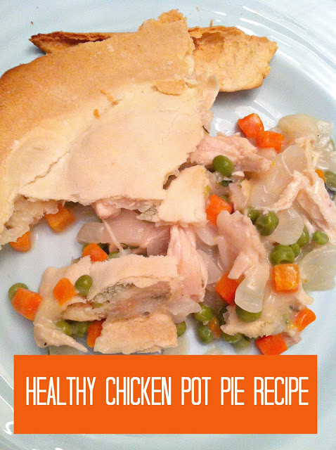 Healthy Chicken Pot Pie  Ten June Healthy Dairy Free Chicken Pot Pie Recipe