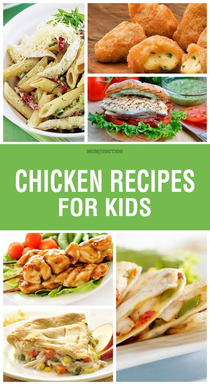 Healthy Chicken Recipes For Kids  The 25 best Chicken recipes for kids ideas on Pinterest