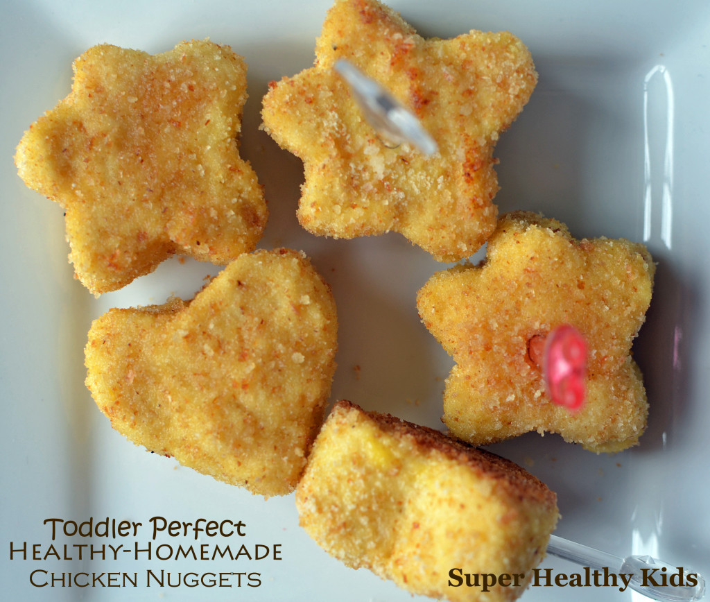 Healthy Chicken Recipes For Kids  Toddler Perfect Chicken Nug s Recipe