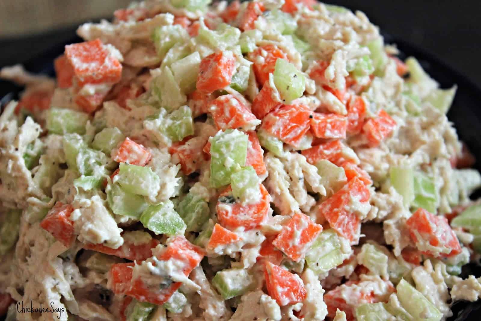 Healthy Chicken Salad Recipe No Mayo  Healthy Chicken Salad No Mayonnaise
