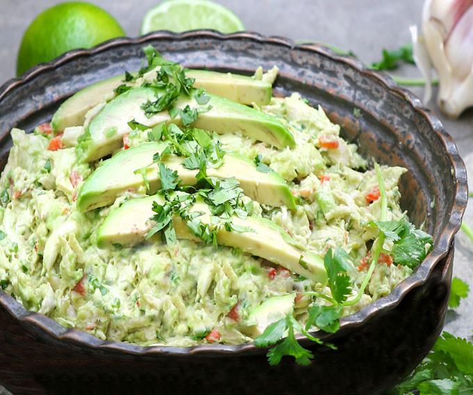 Healthy Chicken Salad Recipe No Mayo  Venezuelan Avocado Chicken Salad No Mayo No Dairy