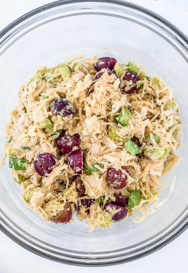 Healthy Chicken Salad Recipe No Mayo  Easy and Healthy Chicken Salad Sandwich Recipe