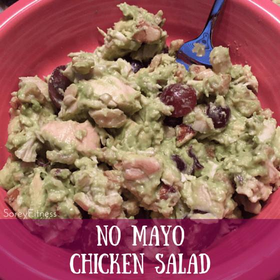 Healthy Chicken Salad Recipe No Mayo  avocado chicken salad no mayo