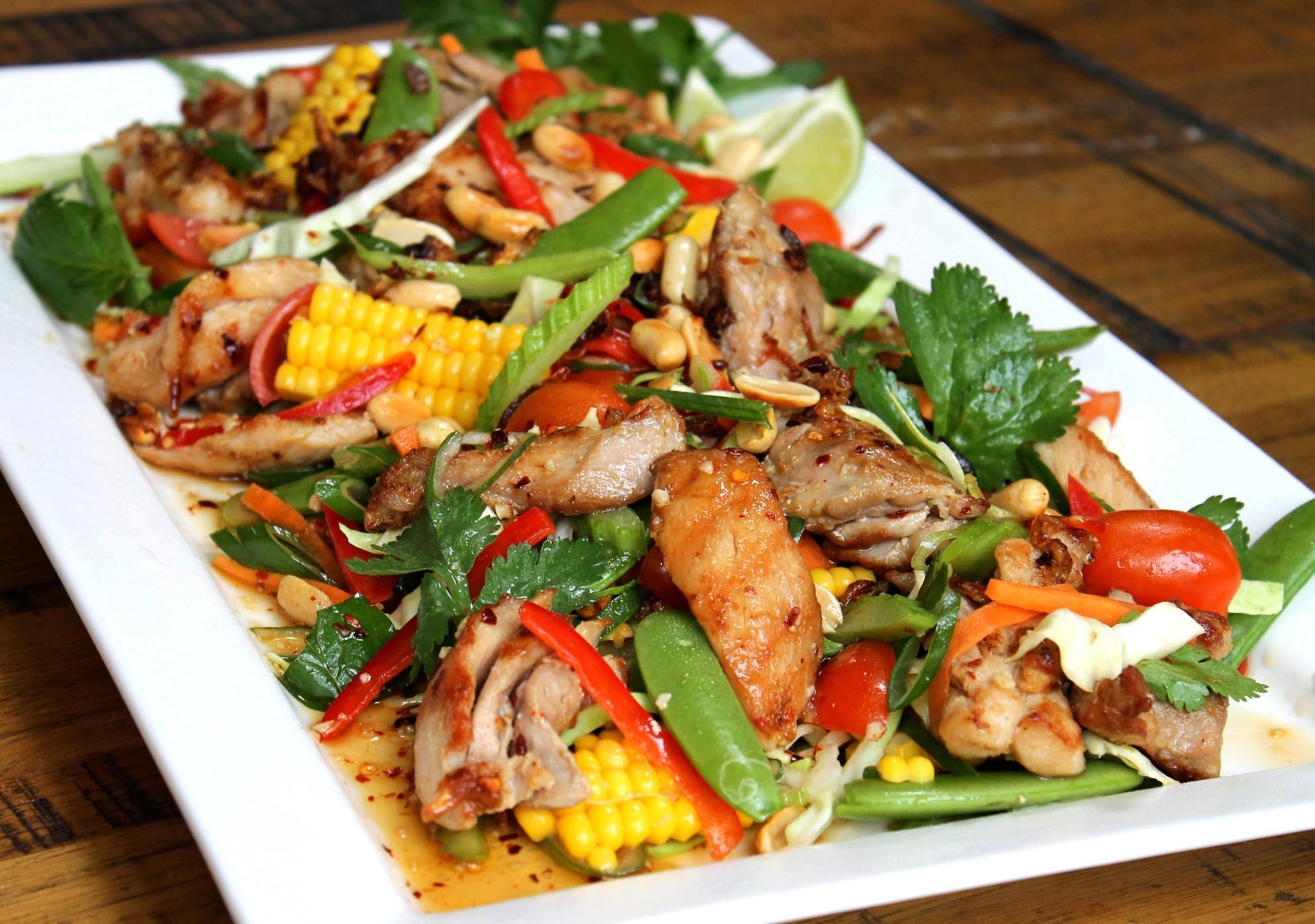 Healthy Chicken Salad Recipe  arsenal scotland Healthy Chicken Salad Recipe Salad