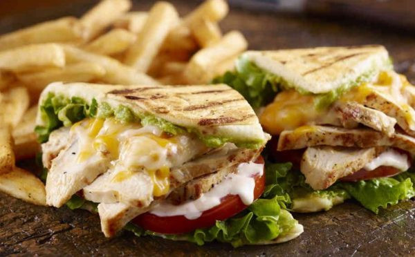 Healthy Chicken Salad Sandwich  Healthy Grilled Chicken Salad Sandwich Lunch Recipe