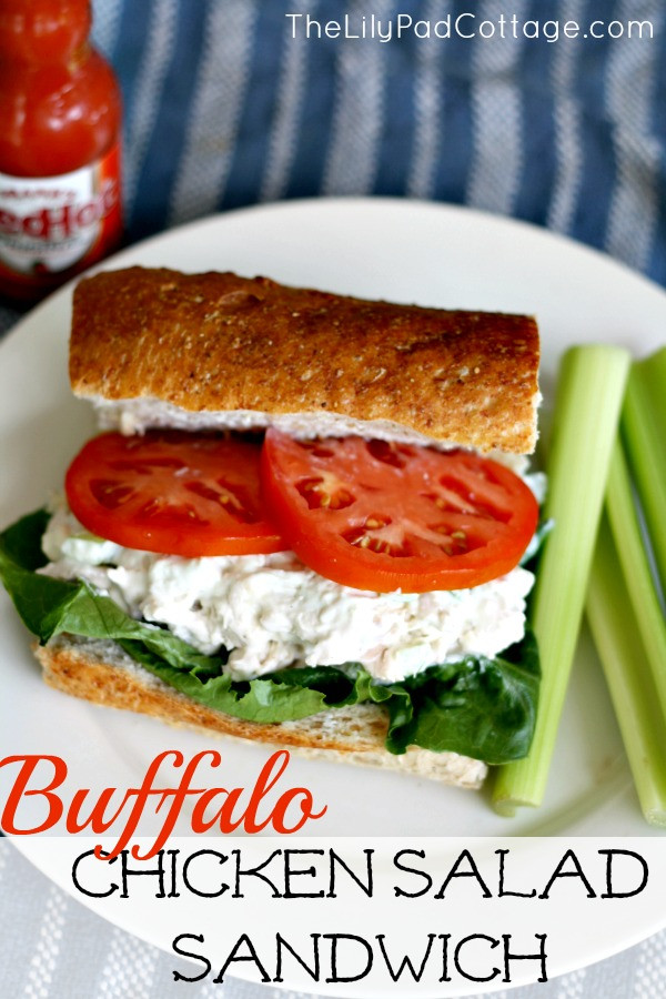 Healthy Chicken Salad Sandwich  Favorite Summer Projects The Lilypad Cottage