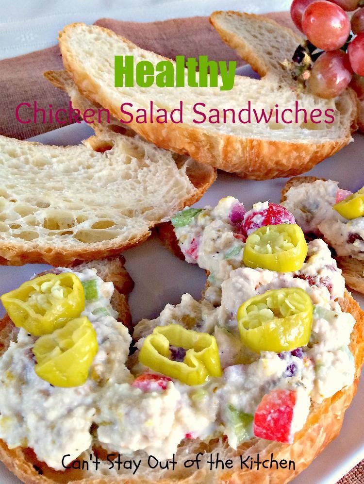 Healthy Chicken Salad Sandwich Recipe  Healthy Chicken Salad Sandwich Recipe
