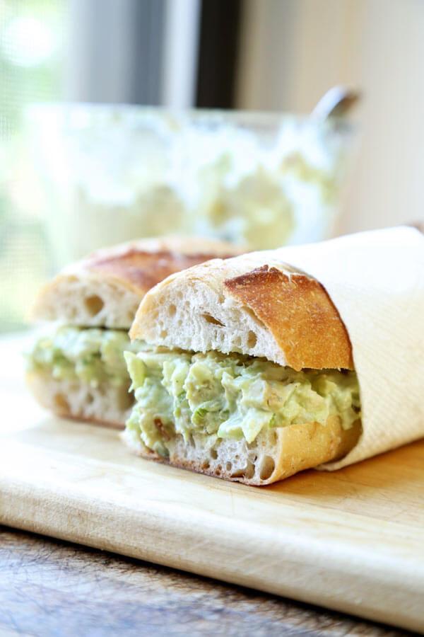 Healthy Chicken Salad Sandwich Recipe  Healthy Chicken Salad Sandwich Recipe Pickled Plum Food