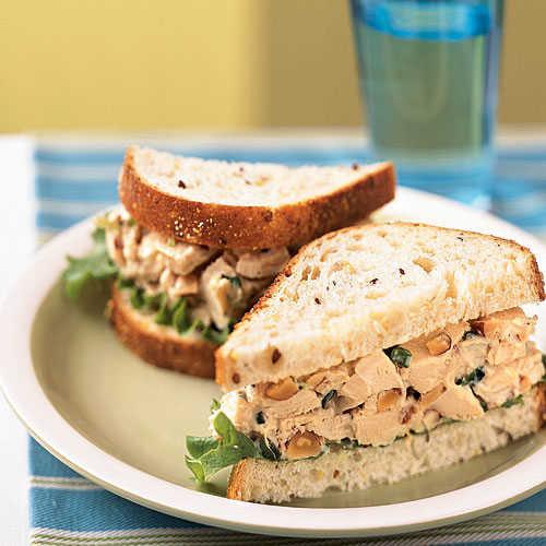 Healthy Chicken Salad Sandwich Recipe  Rosemary Chicken Salad Sandwiches Chicken Salad Recipes