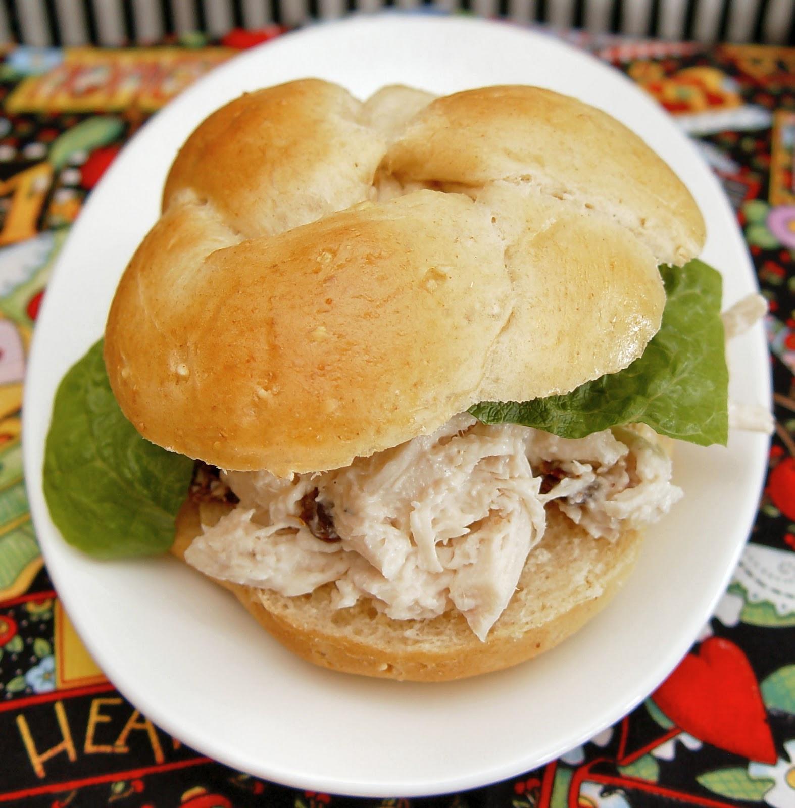 Healthy Chicken Salad Sandwich  February Menu Plan 2012