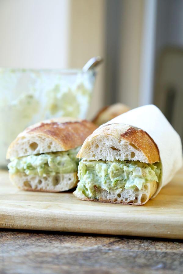 Healthy Chicken Salad Sandwich  Healthy Chicken Salad Sandwich Recipe Pickled Plum Food