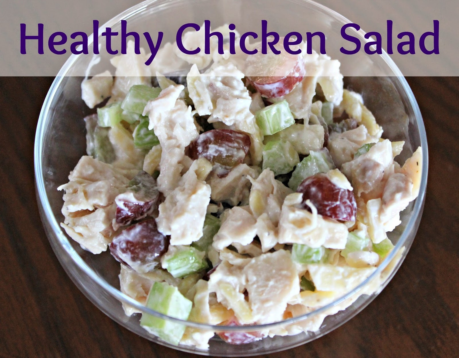 Healthy Chicken Salad  Healthy Chicken Salad Recipe — Dishmaps
