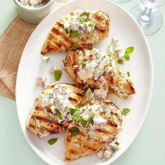 Healthy Chicken Sauces  Healthy Mediterranean Diet Recipes
