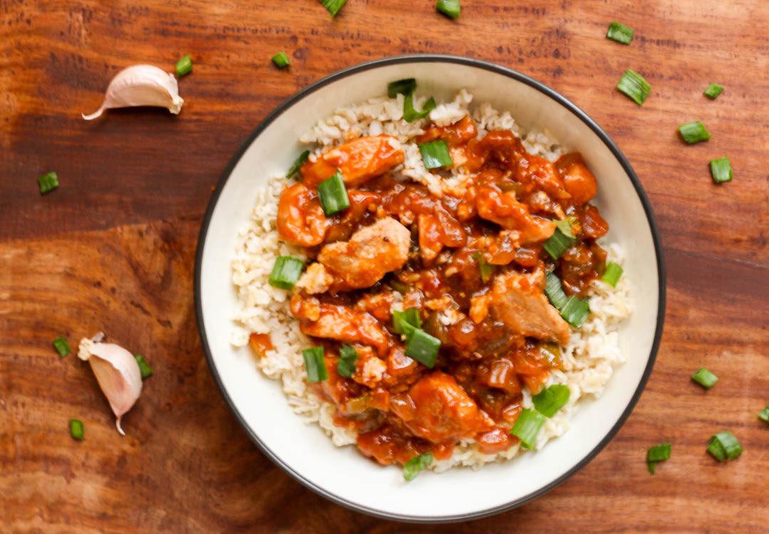 Healthy Chicken Sauces  Healthy Chicken Manchurian Sauce