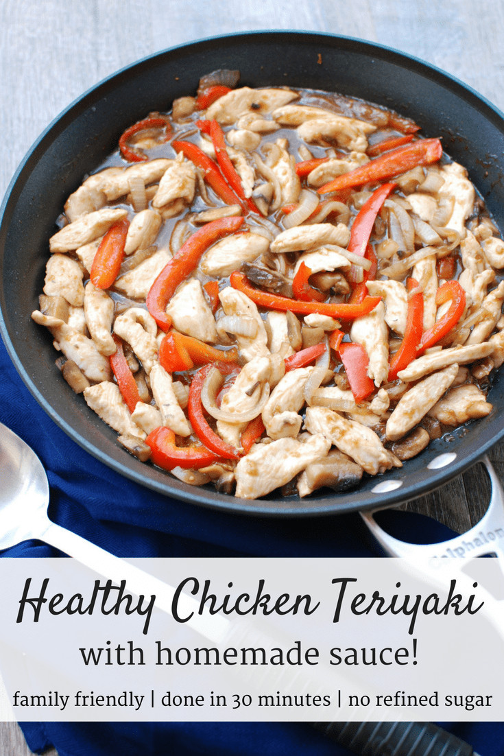 Healthy Chicken Sauces  Healthy Chicken Teriyaki with Homemade Sauce Snacking in