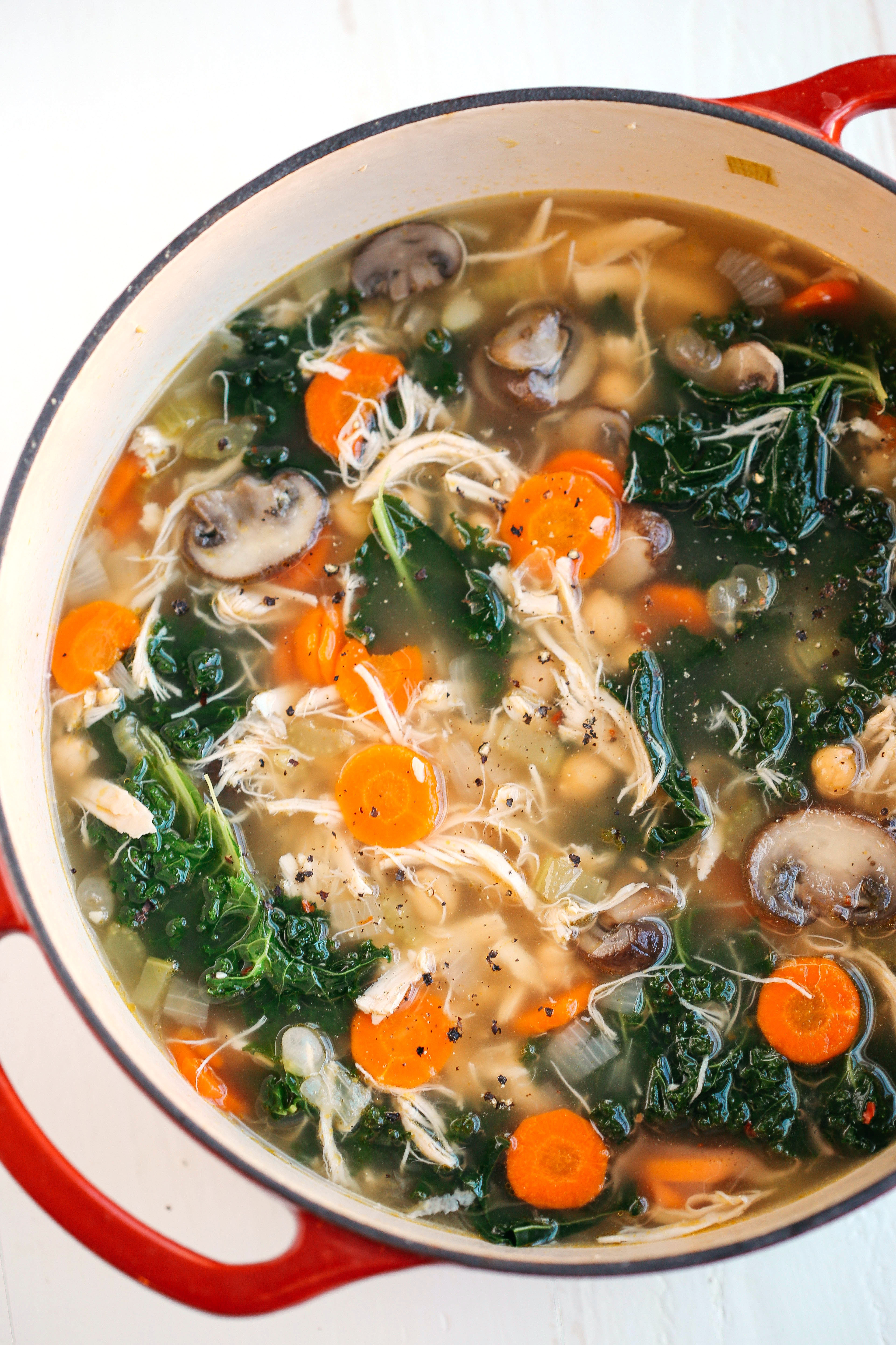 Healthy Chicken Soup  Top 10 Favorite Healthy Soup Recipes Eat Yourself Skinny
