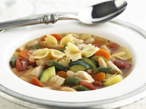 Healthy Chicken Soup  low fat chicken ve able soup