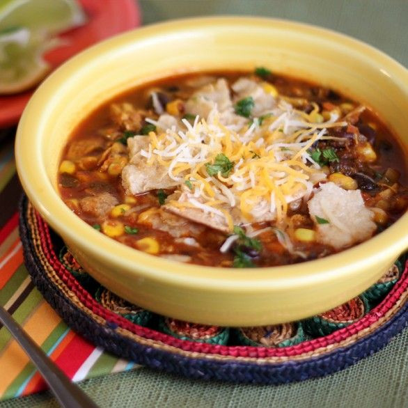 Healthy Chicken Soup Recipes For Weight Loss  Healthy Chicken Tortilla Soup Weight Loss Recipes
