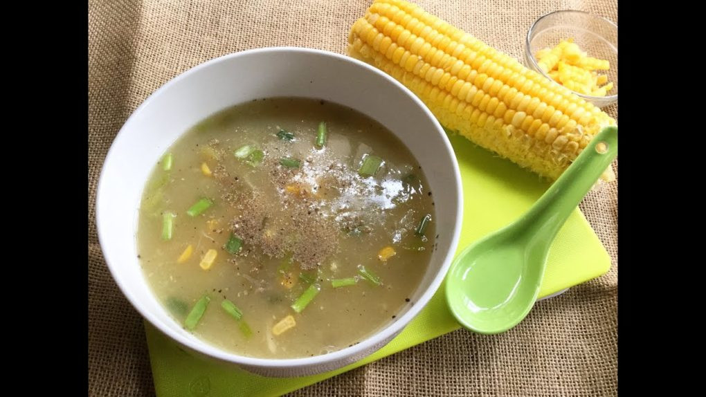 Healthy Chicken Soup Recipes For Weight Loss  Healthy Chicken Corn Soup Recipe