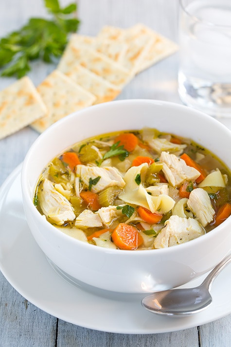 Healthy Chicken Soup Slow Cooker  31 Days of Healthy Frugal Soups Slow Cooker and Freezer