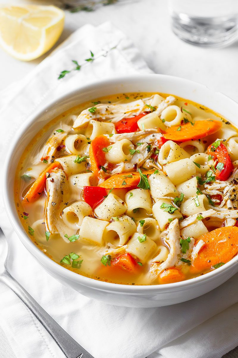 Healthy Chicken Soup  Healthy Soup Recipes 17 Healthy Soups That Will Keep You