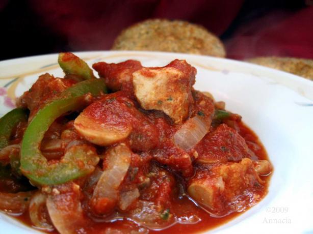 Healthy Chicken Stew Crock Pot Recipe  Chicken Cacciatore Stew Crock Pot Recipe Healthy Food