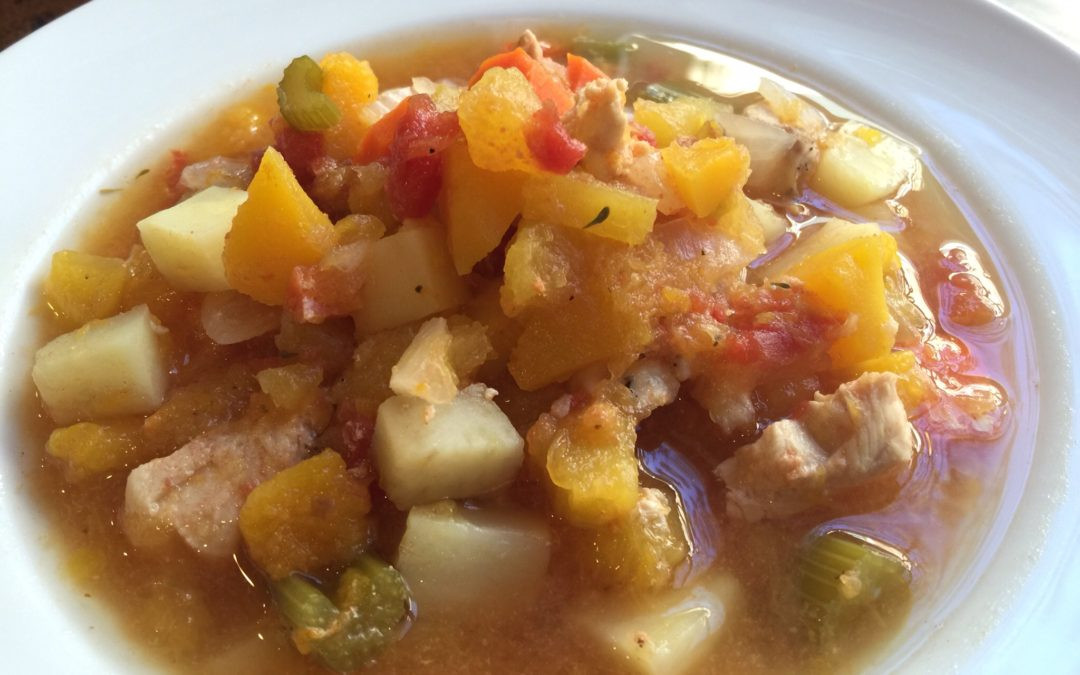 Healthy Chicken Stew Crock Pot Recipe  Autumn Squash Chicken Stew Crock Pot Recipe Paleo and