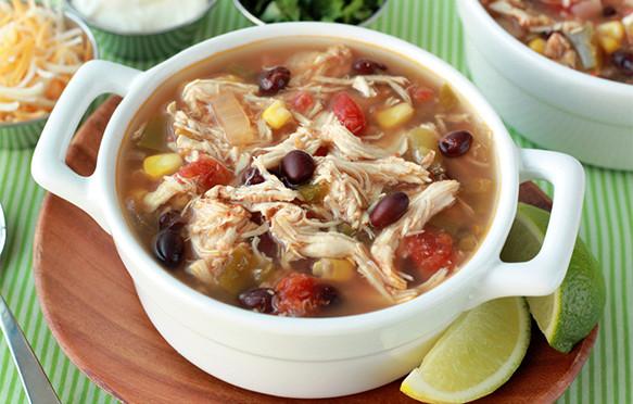 Healthy Chicken Stew Crock Pot Recipe  Healthy Slow Cooker Recipes Tex Mex Chicken Stew Slow